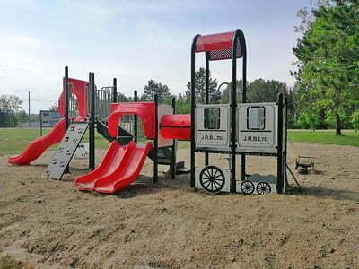 JR Booth Park Train Playground